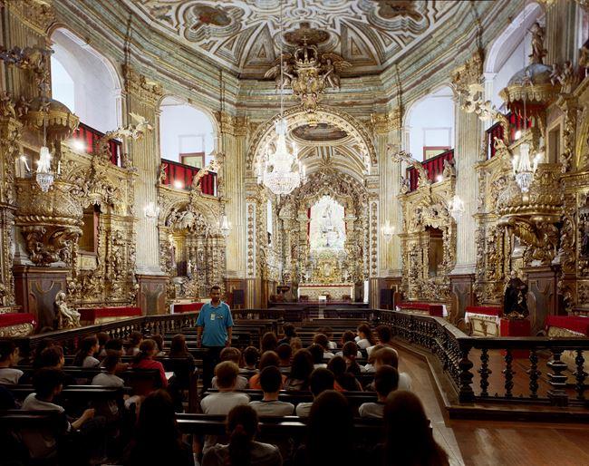 Igreja Matriz de Nossa Senhora do Pilar, Ouro Preto, 2004 by Thomas Struth contemporary artwork