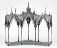 Pergola (scale model 1:10) by Wim Delvoye contemporary artwork sculpture