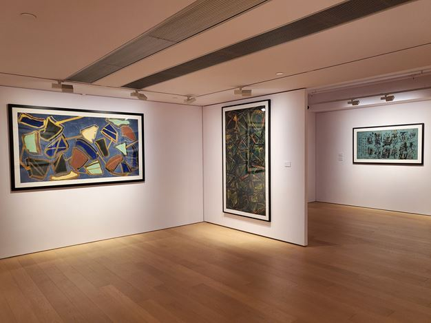 Exhibition view: Wei Ligang, Silent Mountains, Meandering Rivers, Alisan Fine Arts, Hong Kong (3 October–2 January 2020). Courtesy Alisan Fine Arts.
