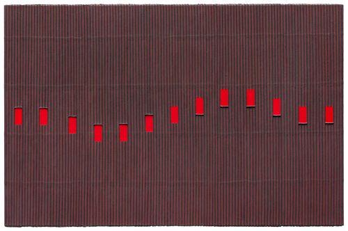 Ecriture (描法) No. 120306 by Park Seo-Bo contemporary artwork painting