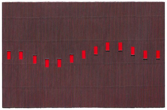 Ecriture (描法) No. 120306 by Park Seo-Bo contemporary artwork