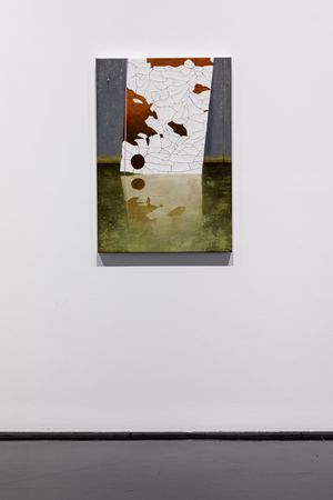 Gipps reflection by Andrew Browne contemporary artwork