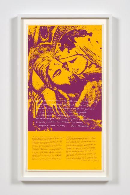 pieta 1969 by Corita Kent contemporary artwork