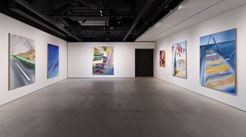 Contemporary art exhibition, Nicholas Hatfull, Thermals of the Heart at The Club, Tokyo