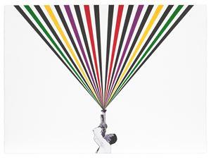 Miles by Rico Gatson contemporary artwork
