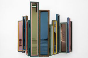 Usefulness of Uselessness - Compressed Window No. 08 by Song Dong contemporary artwork sculpture