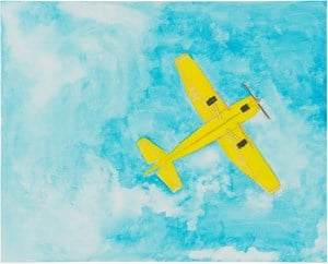 Untitled (Cessna 137) by Mayo Thompson contemporary artwork