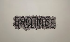 Keywords 2 by Anita Dube contemporary artwork works on paper