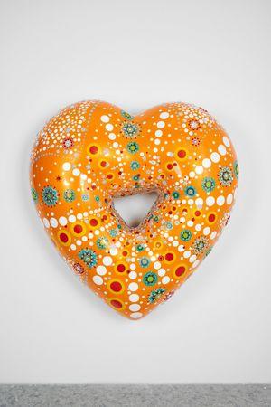 Dot Orange Dot XXL (025) by Jae Yong Kim contemporary artwork sculpture