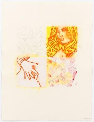 Un Quart B by Reza Farkhondeh & Ghada Amer contemporary artwork