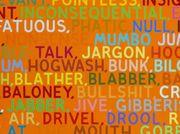 Drivel, drool, babble, blabber: an evening with Mel Bochner
