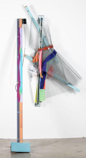 Screen Detail by Jessica Stockholder contemporary artwork