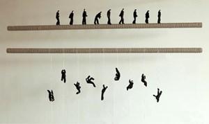 Climb Up, Walk Steady by Ji Wenyu Zhu Weibing contemporary artwork