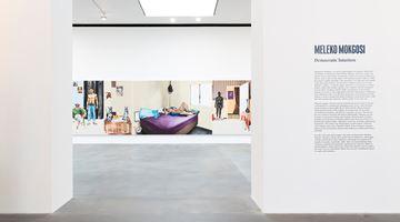 Contemporary art exhibition, Meleko Mokgosi, Democratic Intuition at Gagosian, Britannia Street, London, United Kingdom