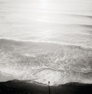 Figure and Tide by Jeffrey Conley contemporary artwork