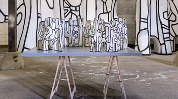 Contemporary art exhibition, Jean Dubuffet, Le cirque at Pace Gallery, New York