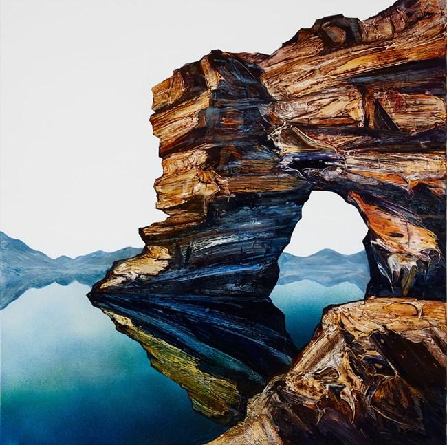 Fossil Cove Study by Neil Frazer contemporary artwork