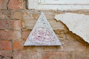 Mineral Signal 2 by Lisa Alvarado contemporary artwork painting, mixed media