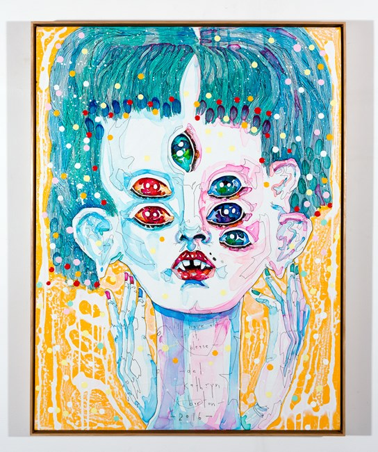 i'll have all of it, please by Del Kathryn Barton contemporary artwork