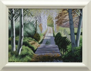 Orinoco Driveway by Dick Frizzell contemporary artwork