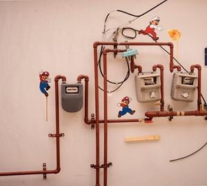 Super mario by Honggoo Kang contemporary artwork