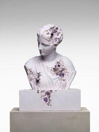 Amethyst Eroded Diana of Gabines by Daniel Arsham contemporary artwork sculpture