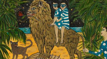 Contemporary art exhibition, Marcel Dzama, Who Loves the Sun at David Zwirner, 69th Street, New York, USA