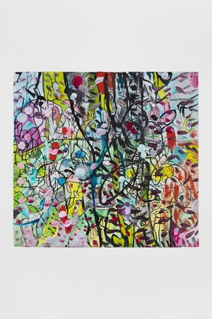 20.5.20.1 by Elliott Hundley contemporary artwork
