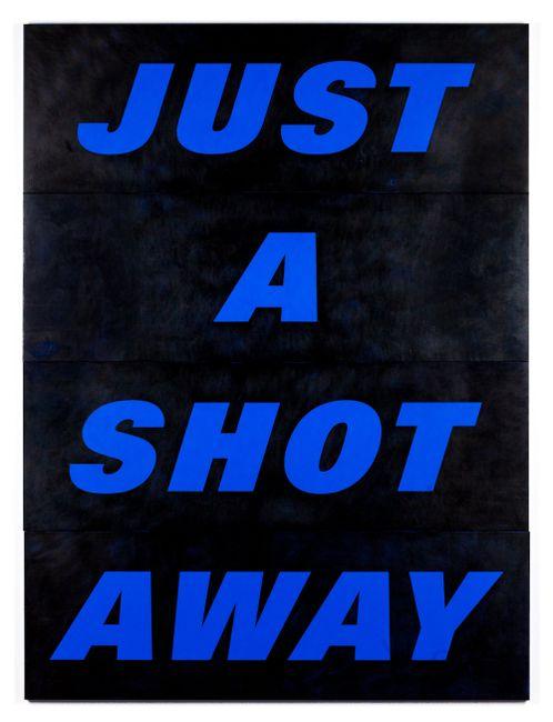Just a Shot Away by Deborah Kass contemporary artwork