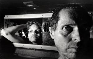 Self Portrait with Black Woman, Boyfriend, Black Elbow Grin by Ryan Weideman contemporary artwork