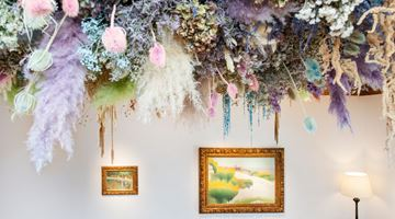 Contemporary art exhibition, Divine Nature at Bailly Gallery, Paris