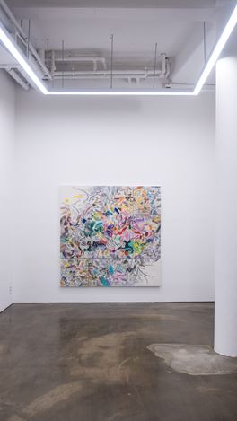 Exhibition View: Woo Tae Kyung, Painting of Drawings, Gallery Chosun, Seoul (29 July–20 August 2020). Courtesy Gallery Chosun.