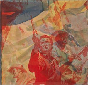 La rivincita by Mimmo Rotella contemporary artwork