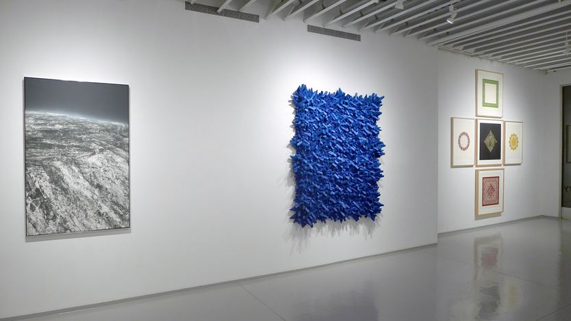 Exhibition view: Group Exhibition, The Art of Paper,Sundaram Tagore Gallery, New York (15 November 2018–9 February 2019). Courtesy the artists and Sundaram Tagore Gallery.