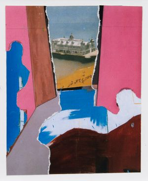 Brighton Bomb by Dexter Dalwood contemporary artwork