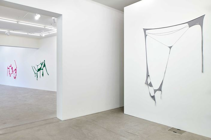 Exhibition view: Marion Baruch, Letting go endless blooming, Galerie Urs Meile, Lucerne (25 June–29 August 2020). Courtesy Galerie Urs Meile.