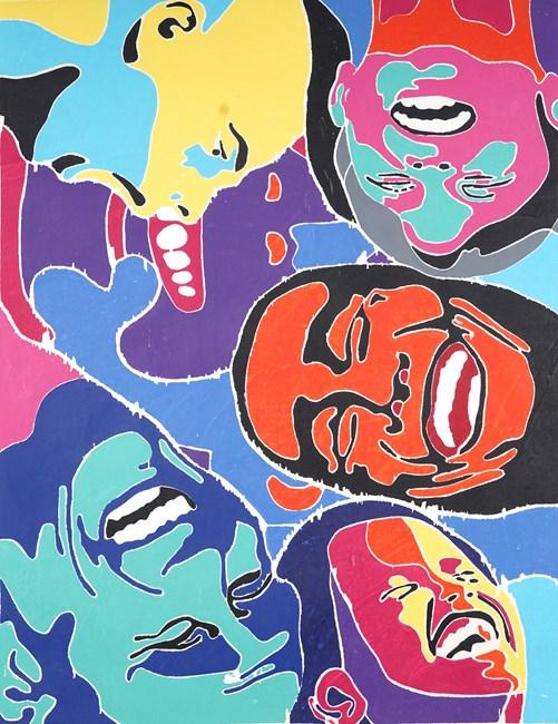 2017 by Fang Lijun contemporary artwork