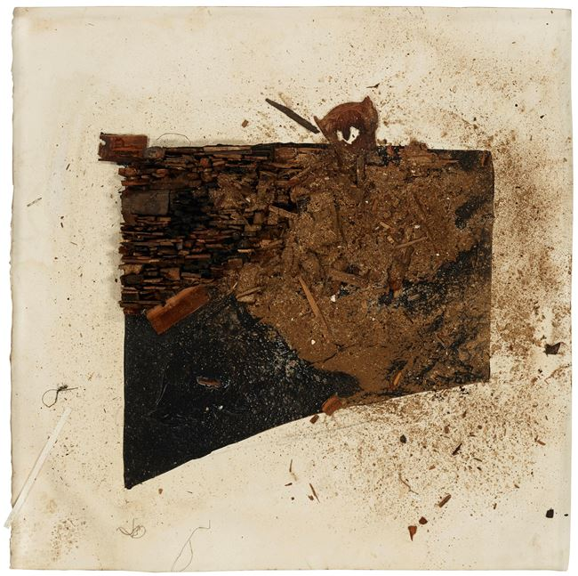 Number 128D by Leonardo Drew contemporary artwork