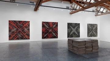 Contemporary art exhibition, Ding Yi, Solo Exhibition at Sean Scully Studio, New York, USA