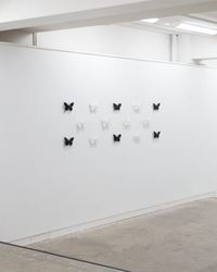 Exhibition view: Elizabeth Thomson, The Black-and-whites, Page Blackie Gallery, Wellington (3 August–28 August 2017). Courtesy Page Blackie Gallery.