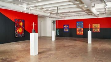 Contemporary art exhibition, Kendell Geers, In Gozi We Trust at Goodman Gallery, Johannesburg
