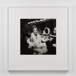 Mario Montez Backstage at the Palm Casino Revue by Peter Hujar contemporary artwork