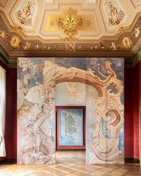 Grand Entrance for Bernardo Buontalenti by Matthew Lutz-Kinoy contemporary artwork painting