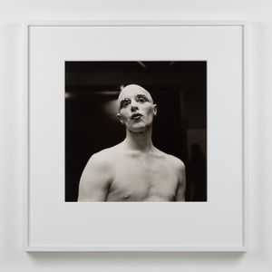 Larry Ree Backstage by Peter Hujar contemporary artwork