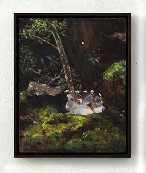 The gathering by Helena Parada Kim contemporary artwork