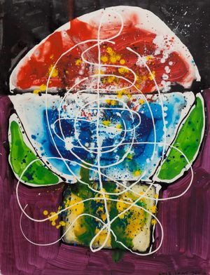 Untitled 《無題》 by Luis Chan contemporary artwork painting, works on paper