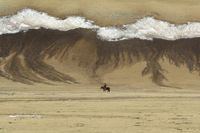 'Spring canvas brushed by nature', Back to Nature, Mongolia by Marc Progin contemporary artwork photography, print