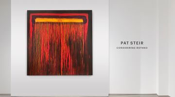 Contemporary art exhibition, Pat Steir, Considering Rothko at Lévy Gorvy, Palm Beach
