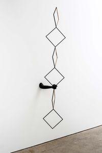 Stigmata by Eva Rothschild contemporary artwork sculpture