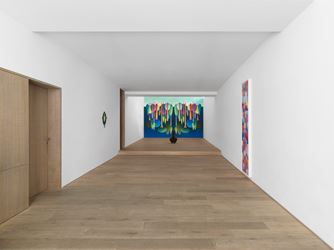 Exhibition view: Nicolas Party, Three Seasons, Xavier Hufkens, Brussels (19 May–15 July 2017). Courtesy Xavier Hufkens. Photo: Allard Bovenberg.